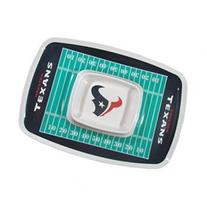 Siskiyou Sports Houston Texans Chip And Dip Tray Chip and