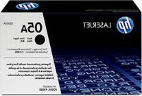 HP 05A  Black Original Toner Cartridge for HP LaserJet P2055