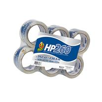 Duck Brand HP260 High Performance 3.1 Mil Packaging Tape, 1.
