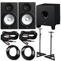 Yamaha HS 8 Pair with HS8S 8 in. Powered Subwoofer and