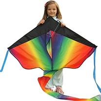 Huge Rainbow Kite For Kids - One Of The Best Selling Toys
