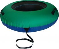 ClearCreekTubes Huge Snow Tube and Cover Combo-green/blue