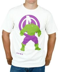 Hulk Avengers Minimal Mens Shirt