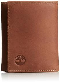 Timberland Men's Hunter Trifold Wallet, Brown, One Size