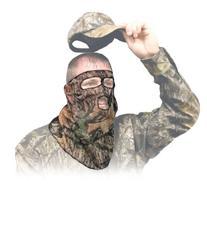 Hunting Face Mask - Ninja Mesh 3/4 MONBU