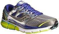 Saucony Women's Hurricane ISO-Series Running Shoe,Grey/