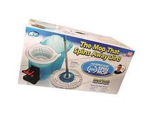 Hurricane 360 Spin Mop by BulbHead - Foot-Operated Washer/