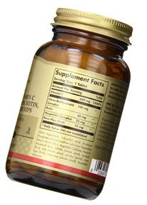 Solgar HY-C Vitamin C with Bioflavonoids Tablets, 600 mg,
