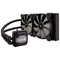 Corsair Hydro H110i Cooling Fan/Radiator - 2 x 140 mm - 2000 rpm - 2 x 104.7 CFM - Liquid Cooler - Socket H3 LGA-1150, Socket H4 LGA-1151, Socket H2