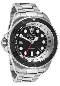 Men's Hydromax Pro Diver Reserve GMT SS Black Dial & Bezel
