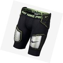 Nike Pro Hyperstrong Hardplate Fitted Football Girdle, Black