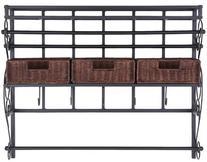 Southern Enterprises HZ6245 Wall Mount Craft Storage Rack