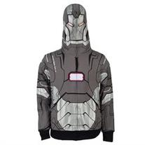 Iron Man - I Am War Machine Costume Zip Hoodie - S
