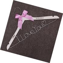 I Love you Dress Hanger Valentines Day gifts Mrs.Name Hanger