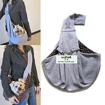 i'Pet Hands-free Reversible Small Dog Cat Sling Carrier Bag
