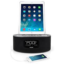 iHome iDL46 Lightning Dock Clock Radio and USB Charge/Play