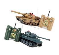 iPlay RC Battling Tanks -Set of 2 Full Size Infrared Radio
