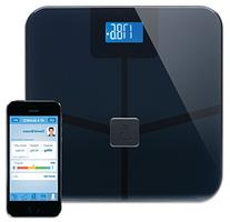 Wireless Smart Scale Track Weight, Bmi, Body Fat, Water,