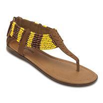 Minnetonka Women's Ibiza Sandal,Dusty Brown,10 M US