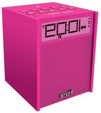 iHome iBN180P Rubberized NFC Bluetooth Dual Alarm FM Clock