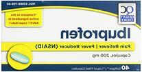 Quality Choice Ibuprofen 200mg. Liquid Filled Capsules  40-