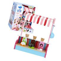 Ice Cream Shop by Svan - 100% Real Wood, 9pc Set Includes