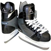 American Athletic Shoe Men's Ice Force Hockey Skates, Black