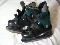 LL Bean Ice hockey Skates - expandable SZ 1-3Y pre-owned -