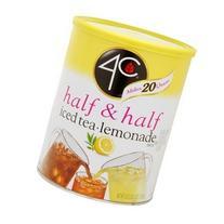 4C Iced Tea Mix - Half & Half Iced Tea Lemonade, 53 oz