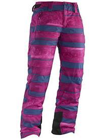 Salomon  Women's Iceglory Pant, Abyss Blue/Mystic Purple, X-