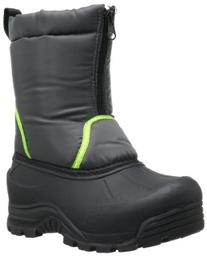 Northside Icicle Unisex Boot ,Dark Grey/Lime,2 M US Little