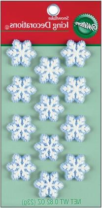 Wilton Icing Decorations - Petite Snowflakes