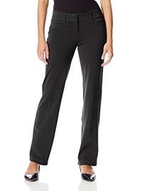 Dockers Women's Petite Ideal Trouser Pant, Black,10P