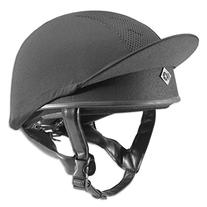 Charles Owen Pro II Riding Skull Black