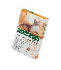 Advantage Ii Orange Cat Small 4pk