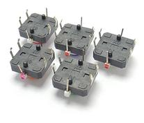 Frentaly® 5X Multicolored 12x12 Illuminated Tactile switch