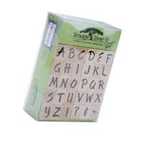 Image Tree Wood Handle Rubber Stamp Set-Susy Ratto