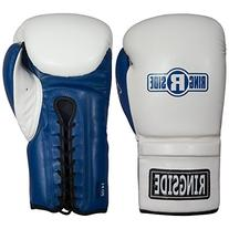 Ringside Lace IMF Tech Training Gloves, White, 16 oz