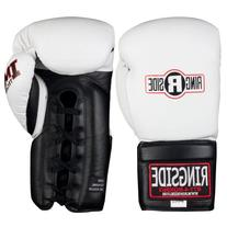 Ringside IMF Tech Sparring Lace Up Boxing Gloves - 16 oz -