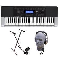Casio Inc. CTK4400 PPK 61-Key Premium Keyboard Pack with