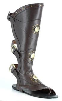 Men's Destroyer Gladiator Sandal Black Size 8-9