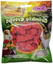 F.m. Browns Inc-Pet-Tropical Carnival Crinkle Crisps- Fruit