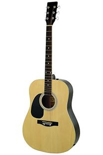 """41"""" Inch Full Size Natural Handcrafted Steel String"""