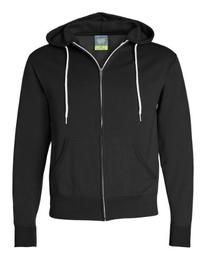 Independent Trading Co Unisex Full Zip Hooded Sweatshirt.