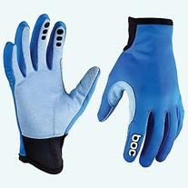 POC Index Windbreaker MTB Gloves Krypton Blue, L - Men's