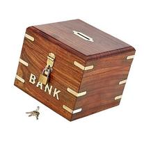 Indian Coin Bank Money Saving Box - Banks for Kids & Adults