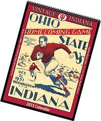 Indiana Hoosiers 2015 Vintage Football Calendar