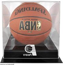 Indiana Pacers Black Base Logo Basketball Display Case with