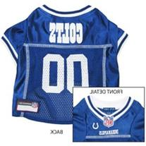 Indianapolis Colts Dog Jersey - White Trim