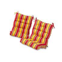 Greendale Home Fashions Outdoor High Back Chair Cushion , Carnival
